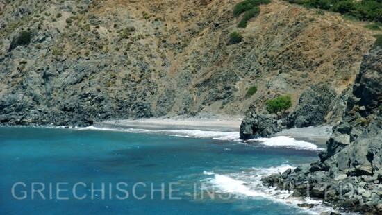 Hohlaka Strand - Blick vom Meer