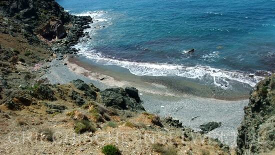 Hohlaka Strand - Blick von oben nach Links