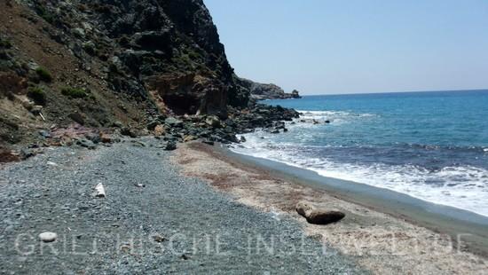 Hohlaka Strand - Der linke Teil