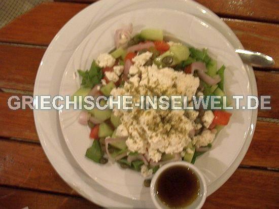 Ios Chora - Salat im Escape