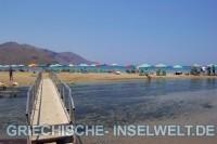 Strand im Osten von Georgioupolis